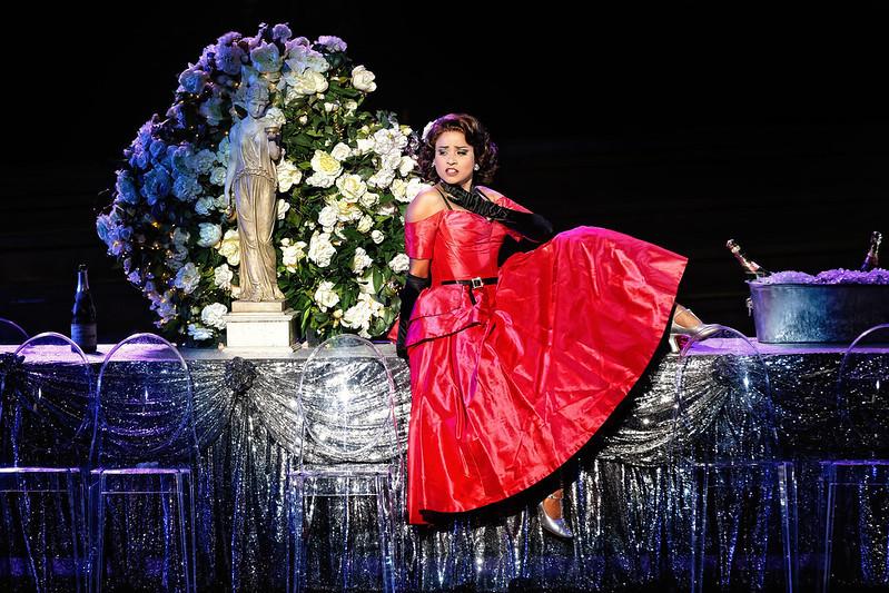 Stacey Alleaume as Violetta in Handa Opera on Sydney Harbour: La Traviata