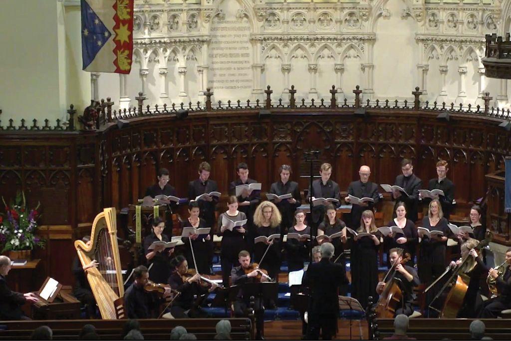 The Australian Chamber Choir performs Fauré's Requiem