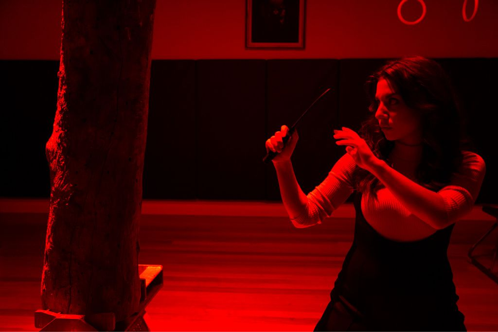 Artemis Ioannides in Malthouse Theatre's Because the Night