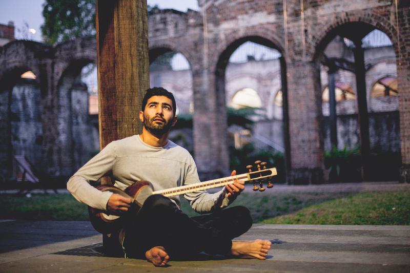 Hamed Sadeghi, leader of the Eishan Ensemble
