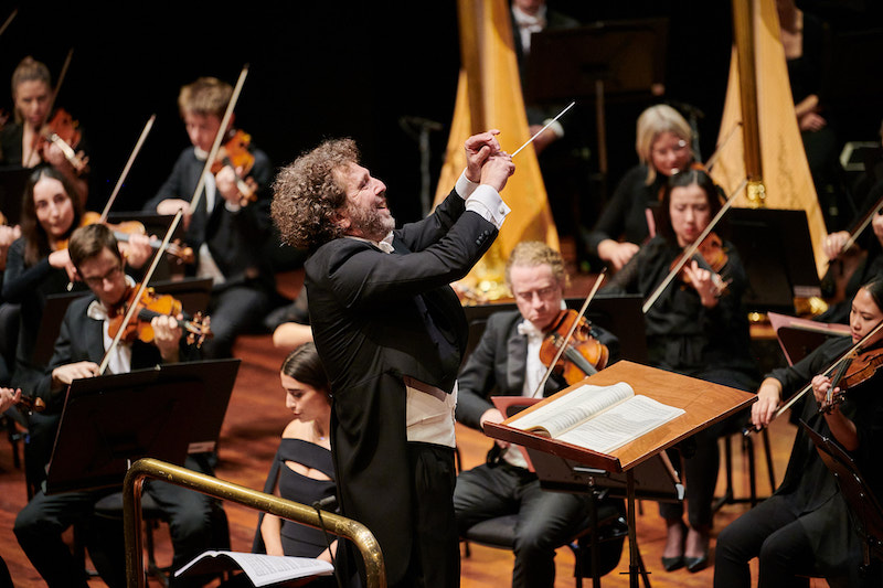 Asher Fisch with WASO