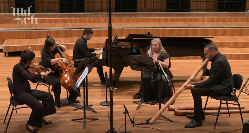Southern Cross Soloists with didgeridoo soloist Chris Williams