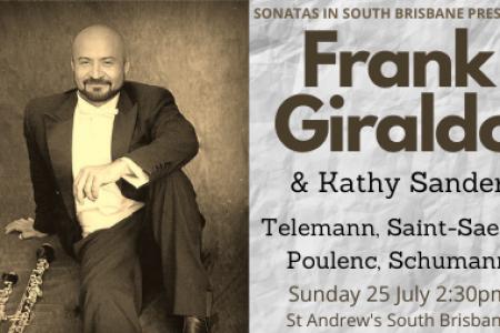 Sonatas in South Brisbane presents Frank Giraldo & Kathy Sander