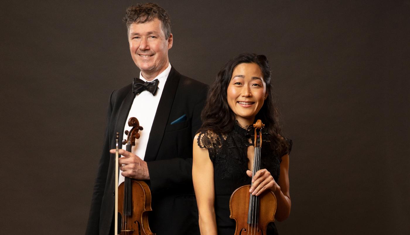 Warwick Adeney and Natsuko Yoshimoto