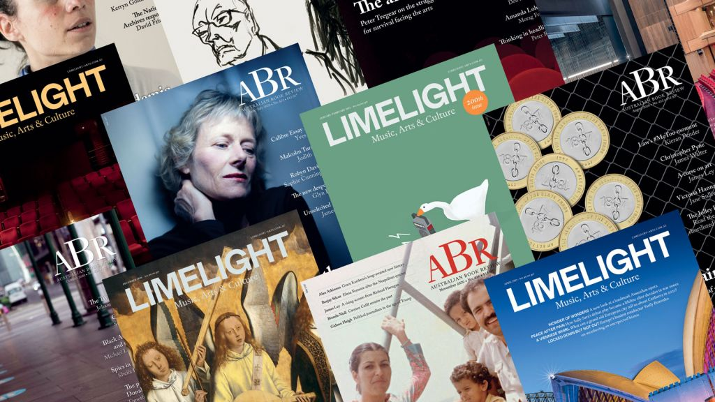 Limelight and Australian Book Review dual subscription