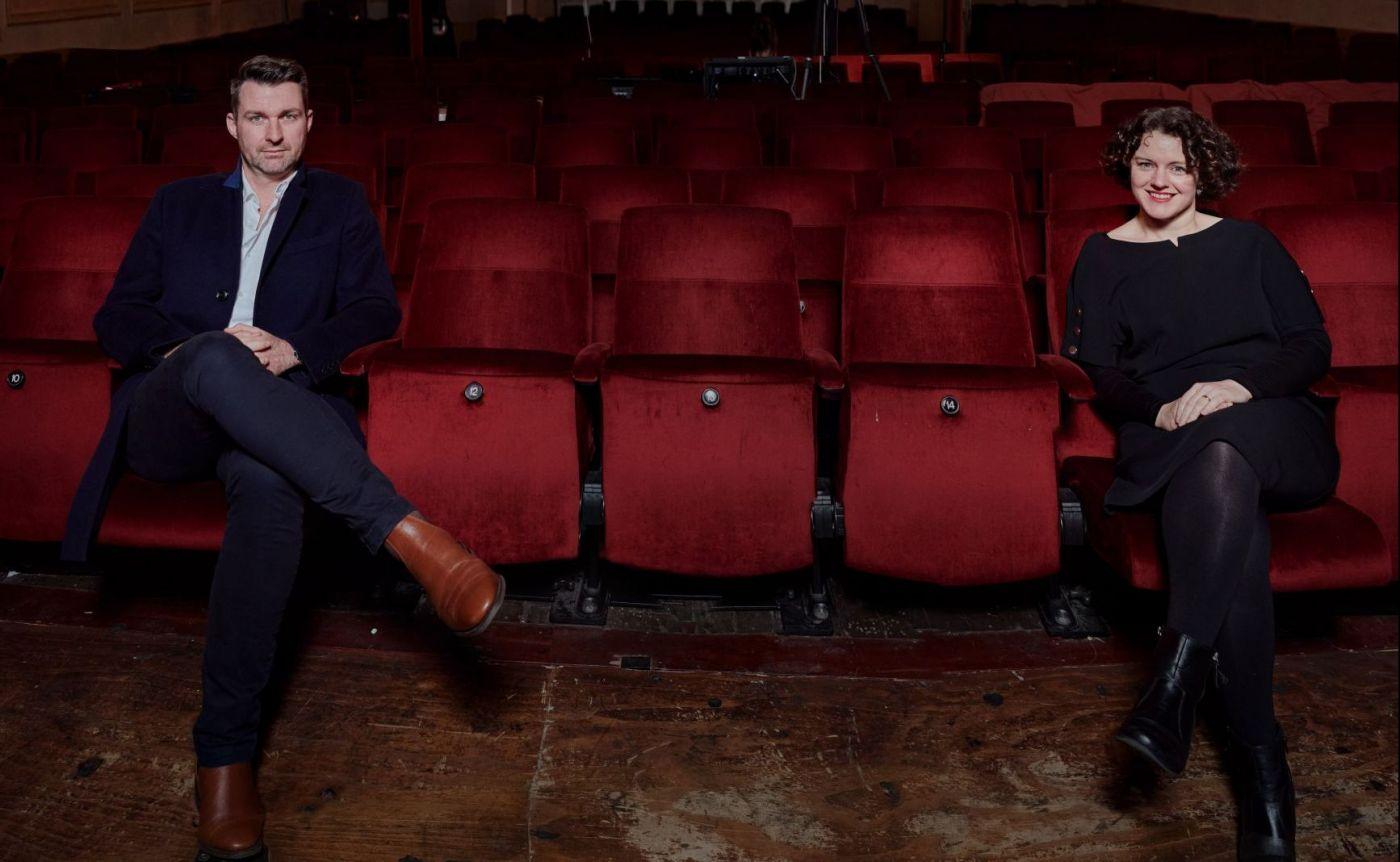 Chris Howlett and Adele Ferguson