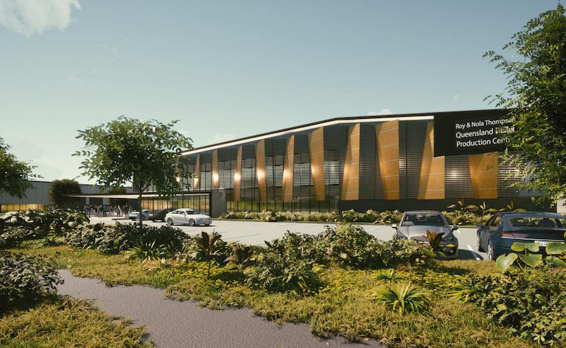 QB Production Centre render