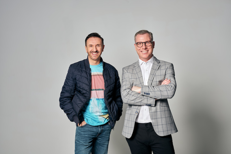 Mitchell Butel and Julian Hobba