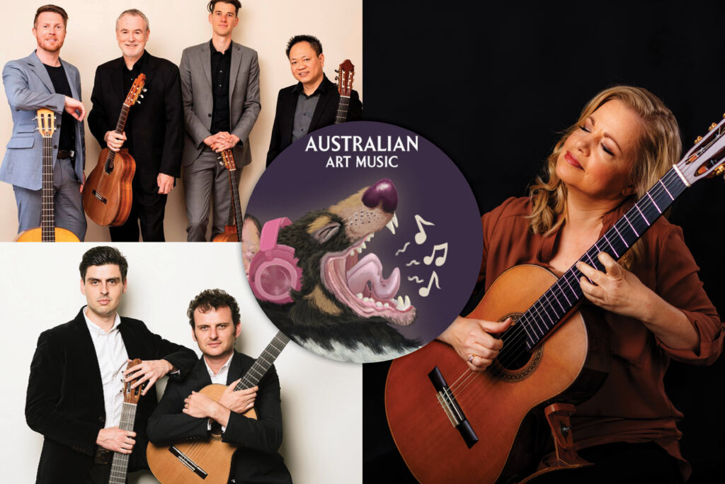 Australian Art Music playlist October 2021