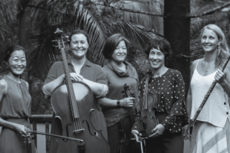 Rising – Flute & String Quartet